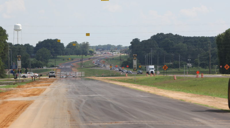 State Route 15 4-lane open in Pontotoc County to the Union County line