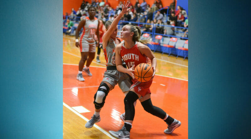 South Pontotoc girls get come from behind win over North Pontotoc